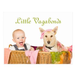 Little Vagabonds Postcard