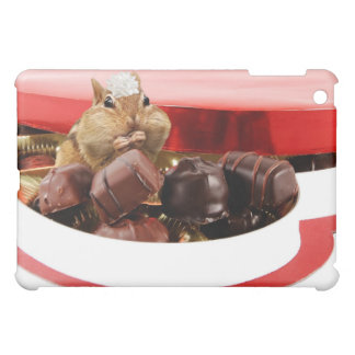 Little Valentine Chipmunk iPad Mini Cover