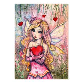 Little Valentine Fairy Valentine's Mini Cards Business Cards