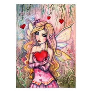 Little Valentine Fairy Valentine's Mini Cards Business Cards