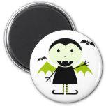 Little Vampire 2 Inch Round Magnet