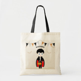 Little Vampire Halloween Party Tote Bag