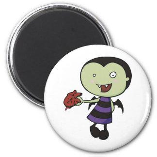 Little Vampire Heart Magnet