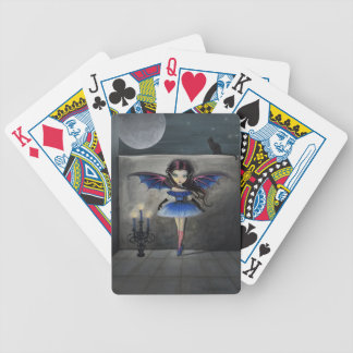 LIttle Vampire in Blue Playing Cards
