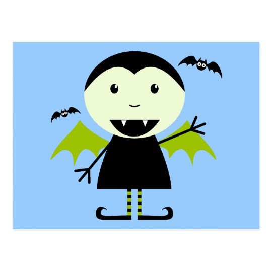 Little Vampire Postcard