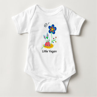 """Little Vegan"" Baby Bodysuit"
