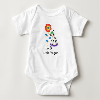 """Little Vegan"" Baby Bodysuit- Healthy Kid T-shirts"