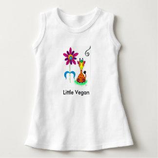 """Little Vegan"" Baby Sleeveless Dress - Healthy Kid"