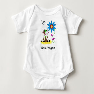 """Little Vegan"" Bodysuit- Healthy Kid T-shirts"