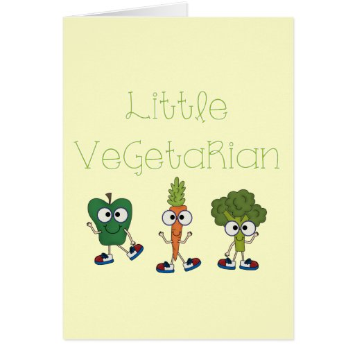 Little Vegetarian Card