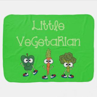 Little Vegetarian Swaddle Blanket