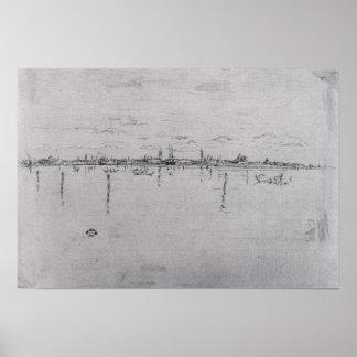 Little Venice by James Abbott McNeill Whistler Print