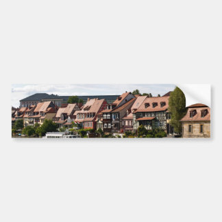 Little Venice in Bamberg Bumper Sticker