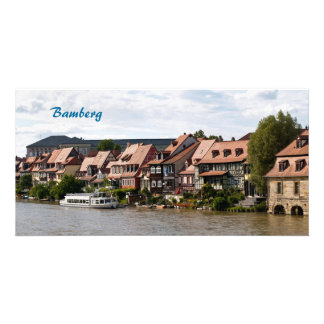Little Venice in Bamberg Card