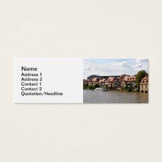 Little Venice in Bamberg Mini Business Card