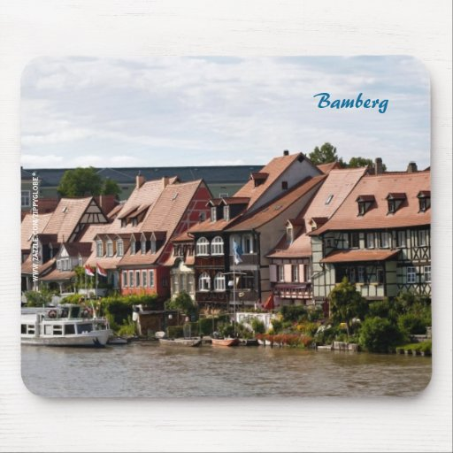 Little Venice in Bamberg Mouse Pad