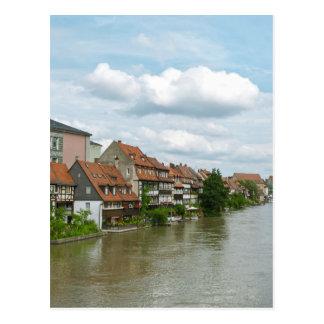 Little Venice in Bamberg Postcard