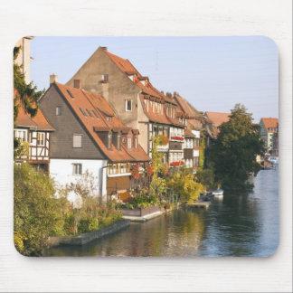 Little Venice (Klein Venedig) and River Regnitz Mouse Pad