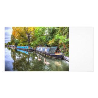 Little Venice London Narrow Boats Card