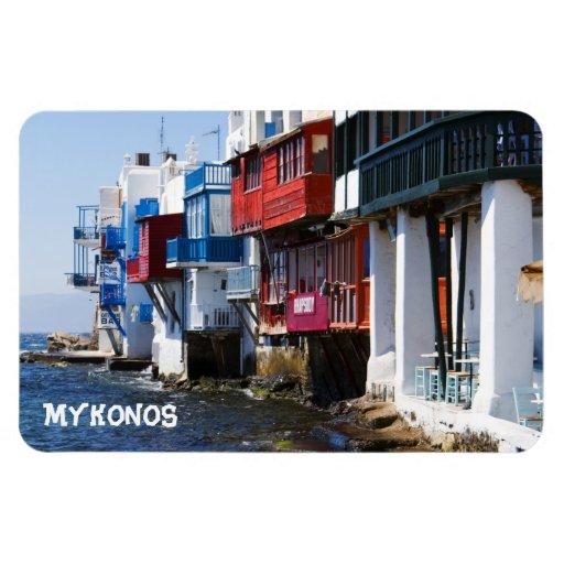 "Little Venice Mykonos 4""x6"" Magnet"