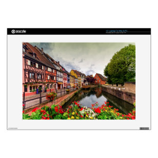 Little Venice, petite Venise, in Colmar, France Laptop Skin