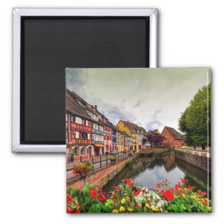 Little Venice, petite Venise, in Colmar, France Magnet