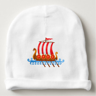 Little Viking Baby Beanie