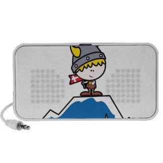 Little Viking Boy Laptop Speakers