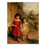 Little Villagers, 1869 Poster
