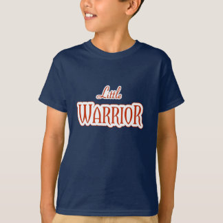 Little WARRIOR in Red T-Shirt