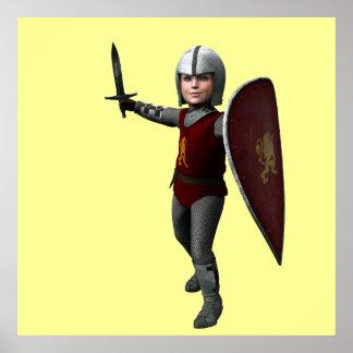 Little Warrior Poster