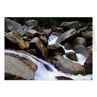 Little Waterfalls Note Card