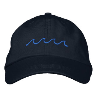 Little Waves Embroidered Baseball Cap