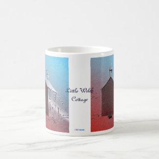 Little Welsh Cottage Basic White Mug