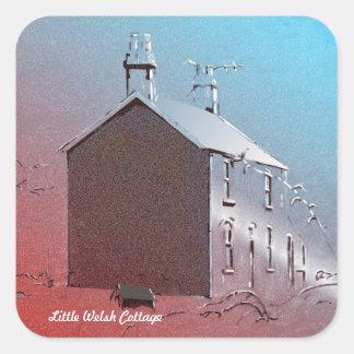 Little Welsh Cottage Sticker