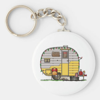Little Western Camper Trailer Keychain