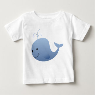 Little Whale Baby T-Shirt