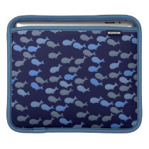 little whales patterns sleeve for iPads