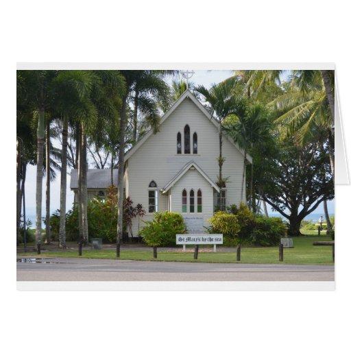Little white chapel card
