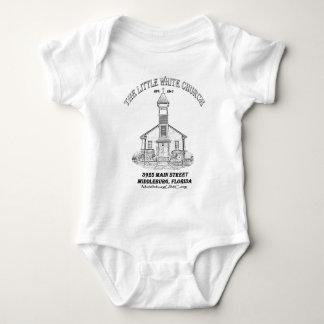 Little White Church Baby Bodysuit