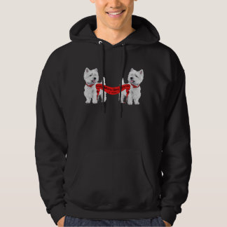 Little White Dog Rescue Hoodie