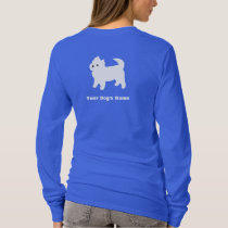 Little White Dog - Westie - West Highland Terrier T-Shirt