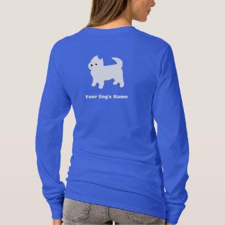 Little White Dog - Westie - West Highland Terrier T-Shirt