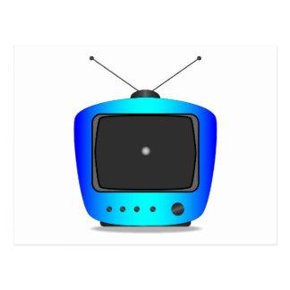 Little White Dot TV Postcard