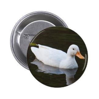Little White Duck Button
