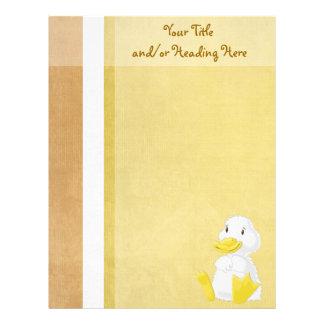 Little White Duck Letterhead