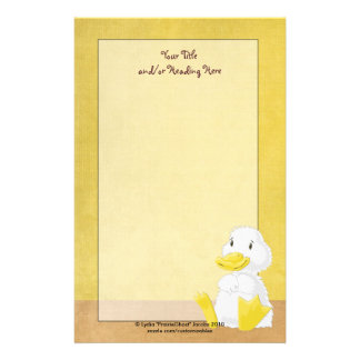 Little White Duck Stationery