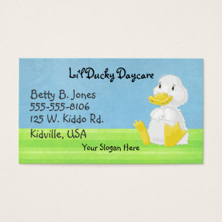 Little White Ducky Business Cards
