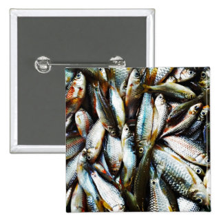 Little White Fish Button