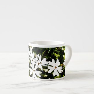 Little White Flowers Espresso Cup
